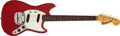 Musical Instruments:Electric Guitars, 1966 Fender Mustang Red Electric Guitar # 135191...