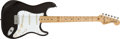 Musical Instruments:Electric Guitars, 1982 Fender Stratocaster Smith Era Hardtail Black Electric Guitar #E 203619 ...