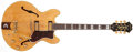 Musical Instruments:Electric Guitars, 1964 Epiphone Sheraton Natural Semi-Hollow Body Electric Guitar, #70761. ...