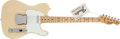 Musical Instruments:Electric Guitars, 1973 Fender Telecaster Blonde Solid Body Electric Guitar,#316970....