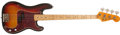 Musical Instruments:Bass Guitars, Mid-1970s Fender Precision Bass Sunburst Electric Bass Guitar, #602806. ...