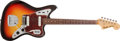 Musical Instruments:Electric Guitars, 1965 Fender Jaguar Sunburst Electric Guitar, #L77661. ...