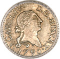 Chile, Chile: Carlos IV 1/4 Real 1790-So,...