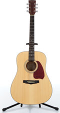Music Memorabilia:Instruments , 1990s Ibanez Performance Model PF5NT1201 Natural Acoustic Guitar Serial # SQ00095036...