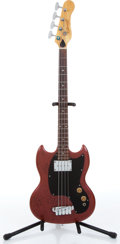 Music Memorabilia:Instruments , 1960s Kalamazoo USA Copper Electric Bass Guitar, Owner CreatedSerial # P320490...