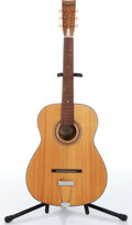 Music Memorabilia:Instruments , 1960s Decca Model 245 Natural Acoustic Guitar No Serial Number....
