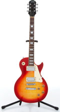 Musical Instruments:Electric Guitars, Reissue Epiphone By Gibson Les Paul Standard Red Sunburst ElectricGuitar Serial# N/A....