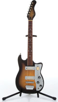 Music Memorabilia:Instruments , 1960s Knox Sunburst Electric Guitar No Serial Number....