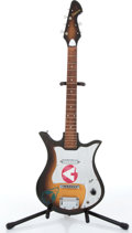 Music Memorabilia:Instruments , 1960s Decca Sunburst Electric Guitar No Serial ...