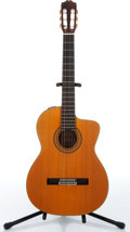Music Memorabilia:Instruments , 1985 Takamine Model EC132SC Natural Acoustic Guitar Serial #85070553....
