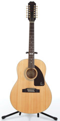 Music Memorabilia:Instruments , 1990s Epiphone AJ 18-12 NA Natural 12-String Acoustic Guitar Z9990....