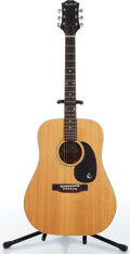 Musical Instruments:Acoustic Guitars, 1970s Epiphone FT-145 Texan Natural Acoustic Guitar Serial# 846530....