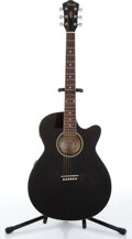 2000s ibanez aeg5ejp bk 2y 01 black acoustic electric guitar serial lot 82007 heritage auctions. Black Bedroom Furniture Sets. Home Design Ideas