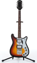 Music Memorabilia:Instruments , 1960s Epiphone Crestwood ET 290 Sunburst Electric Guitar No Serial Number....