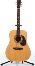 Music Memorabilia:Instruments , 1970s Alvarez Model 5023 Natural Acoustic Guitar No Serial Number....