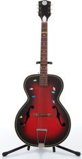 Music Memorabilia:Instruments , 1960s Truetone Archtop Acoustic Guitar No Serial Number....