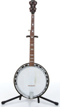 Music Memorabilia:Instruments , 1970s Alvarez 5-String Banjo No Serial Number....