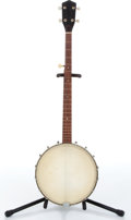 Music Memorabilia:Instruments , 1960s No Name 5-String Banjo No Serial Number....