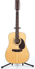 Music Memorabilia:Instruments , 1990s Sigma by Martin DM1ST-12 Natural 12-String Acoustic Guitar Serbia # J183182....
