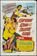 "Movie Posters:Adventure, Captain Kidd and the Slave Girl Lot (United Artists, 1954). OneSheets (2) (27"" X 41""). Adventure.. ... (Total: 2 Items)"