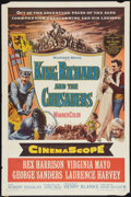 "Movie Posters:Adventure, King Richard and the Crusaders (Warner Brothers, 1954). One Sheet(27"" X 41""). Adventure.. ..."