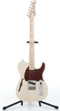 Musical Instruments:Electric Guitars, Late 1990s G & L ASAT Classic Blonde Semi-Hollow Body ElectricGuitar Serial# CLF12261....
