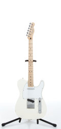 Musical Instruments:Electric Guitars, 2005 Fender Telecaster Arctic White Electric Guitar Serial#MZ5190302....