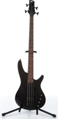 Musical Instruments:Bass Guitars, 2006 Soundgear By Ibanez SRX2 EX1 4-String Black Electric Bass Serial# I060710556....