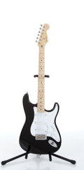 "Musical Instruments:Electric Guitars, 1989 Fender Stratocaster ""Blackie"" Electric Guitar Serial#SE920121...."