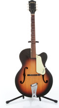 Musical Instruments:Electric Guitars, 1961 Gretsch 6014 Corsair Sunburst Acoustic Guitar Serial# 43918...