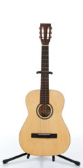 Musical Instruments:Acoustic Guitars, 1960s Silvertone Classic Natural Acoustic Guitar Serial# N/A....