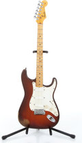 Musical Instruments:Electric Guitars, 1959 Fender Stratocaster Sunburst Electric Guitar Serial# 31839....