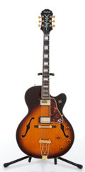 Musical Instruments:Electric Guitars, 1999 Epiphone Broadway Sunburst Electric Guitar Serial# 9051056....