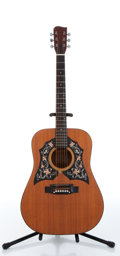 Musical Instruments:Acoustic Guitars, 1970s Unknown Natural Acoustic Guitar Serial# N/A....