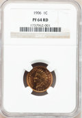 Proof Indian Cents: , 1906 1C PR64 Red NGC. NGC Census: (20/46). PCGS Population (30/35).Mintage: 1,725. Numismedia Wsl. Price for problem free ...