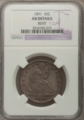Seated Half Dollars: , 1891 50C --Bent--NGC Details. AU. NGC Census: (1/133). PCGSPopulation (1/174). Mintage: 200,000. Numismedia Wsl. Price for ...