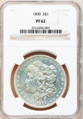 Proof Morgan Dollars, 1890 $1 PR62 NGC....