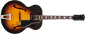 Musical Instruments:Electric Guitars, 1954 Gibson ES-150 Sunburst Hollow Body Electric Guitar, #X9292....