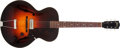 Musical Instruments:Electric Guitars, Early 1940s Gibson ES100-125 Sunburst Archtop Electric Guitar,#4527G....