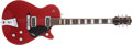 Musical Instruments:Electric Guitars, 1956 Gretsch Jet Firebird Red Solid Body Electric Guitar,#18065....