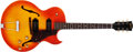 Musical Instruments:Electric Guitars, 1967 Gibson ES-125 TDC Sunburst Thin-Hollow Body Electric Guitar,#356716....