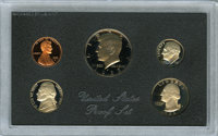 """Pair of 1983 Proof Sets With """"No S"""" Dimes"""