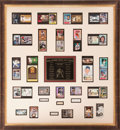 Autographs:Others, 1930's-2000's 500 Home Run Multi-Signed Display....