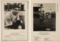 Baseball Cards:Sets, 1946-49 Sports Exchange All-Star Picture File, Series 1A/B to 12 Near Set (78). ...