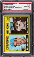 Baseball Cards:Singles (1960-1969), 1967 Topps Cubs Rookie Stars #272 PSA Gem Mint 10 - Pop 2!...