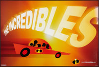 """The Incredibles Lot (Buena Vista, 2004) Advance. Horizontal One Sheets (6) (27"""" X 41""""). Animated. ... (Total:..."""