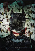 "Movie Posters:Action, The Dark Knight (Warner Brothers, 2008). One Sheet (27"" X 40"") SS""Cowl"" Advance Style H. Action.. ..."