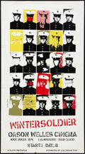 """Movie Posters:Documentary, Winter Soldier (J.C.B., 1972). Special Poster (24.75"""" X 44""""). Documentary.. ..."""