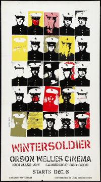 """Winter Soldier (J.C.B., 1972). Special Poster (24.75"""" X 44""""). Documentary"""