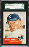 Baseball Cards:Singles (1950-1959), 1953 Topps Mickey Mantle #82 SGC 80 EX/NM 6....